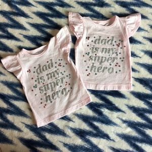 Infant girls 6m tops
